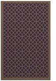 rug #356561 |  purple geometry rug