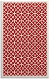 rug #356569 |  red borders rug