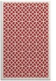rug #356577 |  red borders rug