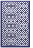 rug #356609 |  blue circles rug