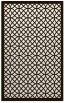 rug #356625 |  brown circles rug