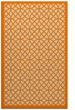 rug #356645 |  orange popular rug
