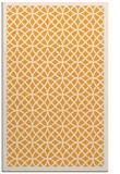 rug #356677 |  light-orange circles rug