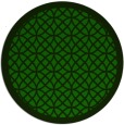 rug #356749 | round green circles rug