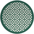 rug #356814 | round borders rug