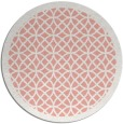 rug #356901   round white circles rug