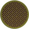 rug #356909 | round purple borders rug