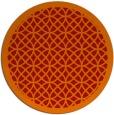 rug #356925 | round red circles rug