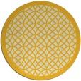 rug #356969 | round yellow circles rug