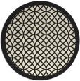 rug #356990 | round borders rug