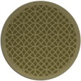 rug #357013 | round light-green circles rug