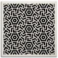rug #362669 | square black circles rug
