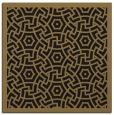 rug #362685 | square mid-brown borders rug