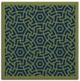 rug #362701 | square blue borders rug