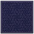 rug #362749 | square blue-violet borders rug