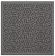 rug #362813 | square mid-brown borders rug