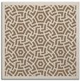 rug #362817 | square beige circles rug