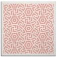 rug #362885 | square white borders rug