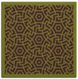 rug #362893 | square purple circles rug