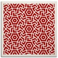 rug #362905 | square red borders rug