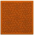 rug #362929   square red-orange borders rug