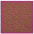 rug #362993 | square light-green borders rug