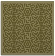 rug #362997 | square light-green borders rug