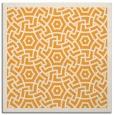 rug #363013 | square light-orange circles rug