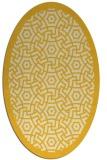 rug #363305 | oval circles rug