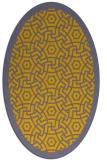 rug #363331 | oval borders rug