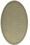 rug #363343 | oval circles rug