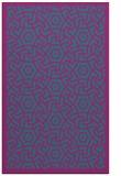 rug #363433    blue-green rug