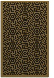 rug #363485 |  mid-brown borders rug