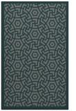 rug #363497 |  green circles rug
