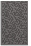rug #363517 |  mid-brown circles rug