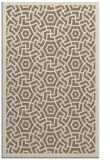 rug #363521 |  mid-brown borders rug