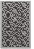 rug #363569 |  orange circles rug