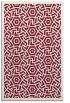 rug #363581 |  pink circles rug