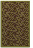 rug #363597 |  purple circles rug