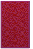 rug #363621 |  pink circles rug