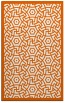 rug #363637 |  red-orange circles rug