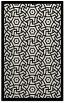 rug #363641 |  white borders rug
