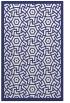 rug #363649 |  blue circles rug