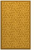 rug #363673 |  light-orange circles rug
