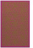 rug #363697 |  light-green circles rug