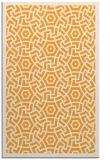 rug #363717 |  light-orange circles rug