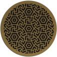 rug #363741   round black circles rug