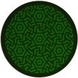 rug #363789 | round green circles rug