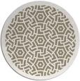 rug #363861   round white circles rug