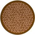 rug #363867   round borders rug
